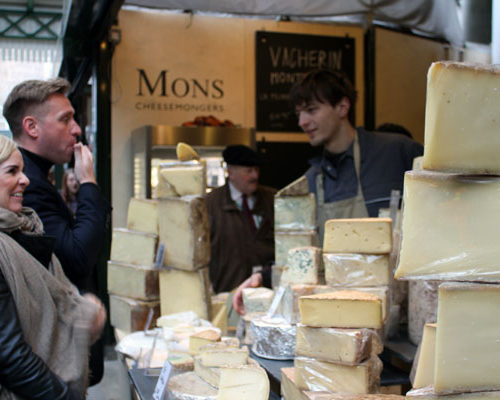 Cheese Markets - London Food Tour
